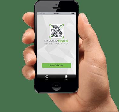 Barrier Track mobile-app