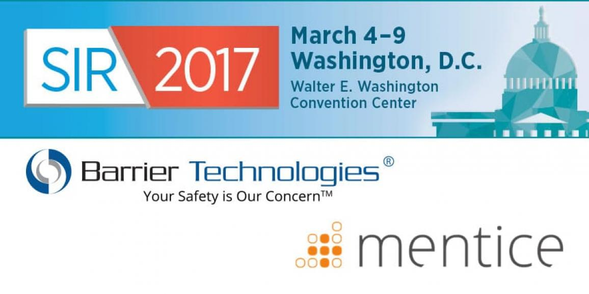 Mentice and Barrier Technologies at SIR 2017